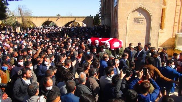 Şanlıurfa'da kazada ölen asker son yolculuğuna uğurlandı (Videolu Haber)