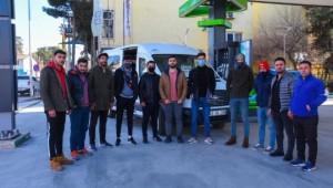 Soylu'dan Ceylanpınar Umutspor'a destek