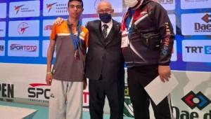 Büyükşehir sporcusu uluslararası yarışmada madalya ile döndü