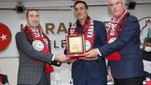 Karaköprü Belediyespor'da yeniden Mustafa Aslan dönemi başladı
