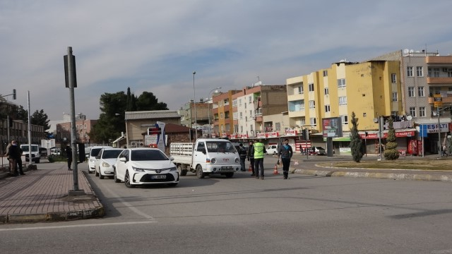 Urfa'da 133 kişiye sokağa çıkma ihlali nedeniyle ceza yazıldı