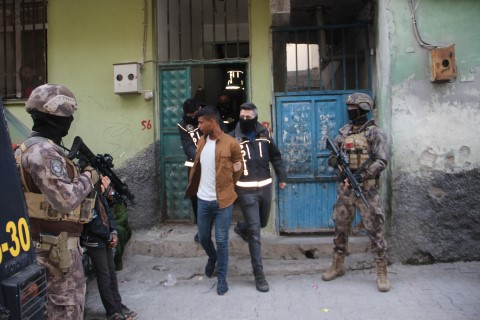 Şanlıurfa'da 200 polisle narkotik operasyonu