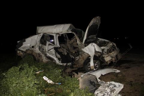 Şanlıurfa'da feci kaza: 5 ölü, 1 yaralı
