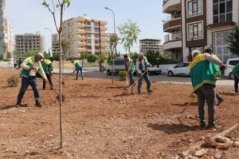 Yemyeşil Karaköprü için yeni parklar kazandırılıyor