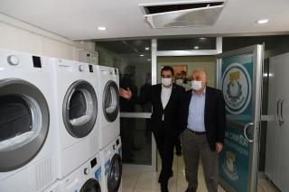 Fakıbaba, Haliliye Belediyesi sosyal yardım kompleksini gezdi: Yürekten kutluyorum