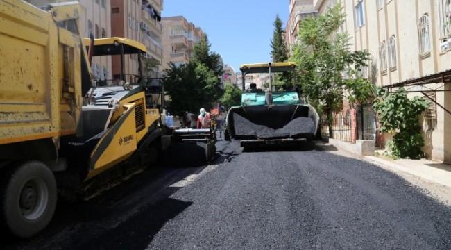 Haliliye'de asfalt yollar yenileniyor