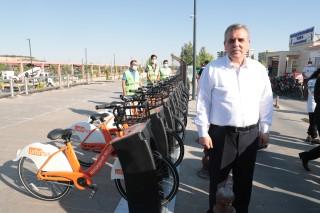 """Peygamberler şehri, dünya bisiklet gününde """"urfabis"""" ile tanıştı"""