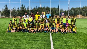 Urfa'da Fenerbahçe Spor Okulu Şanlıurfa'da altyapı çalışmalarına başladı.