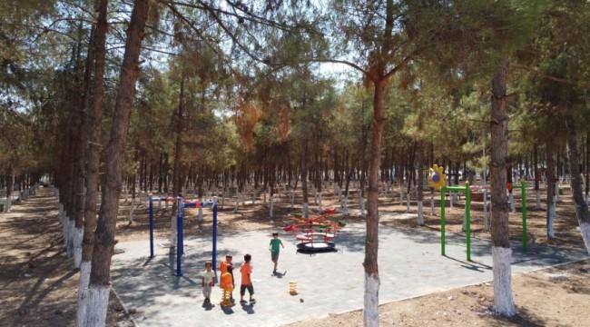 Akçakale Kent Parkı ve Mesire Alanı açılış için gün sayıyor