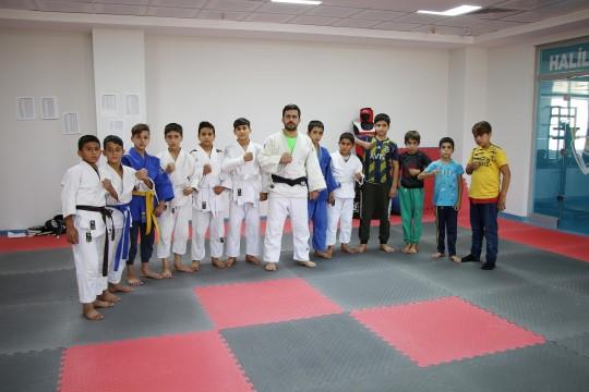 Haliliye belediyesi lisanslı judocular yetiştiriyor