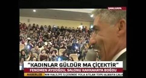 Kadınlar Güldür Ma Çiçektir'den Muhteşem espiriler Gülmek Garanti-Şanlıurfa 63 TV
