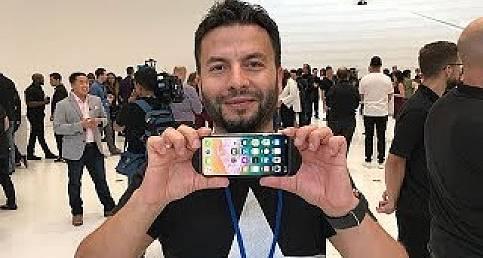 iPhone X ön inceleme! TÜRKİYE'DE İLK!
