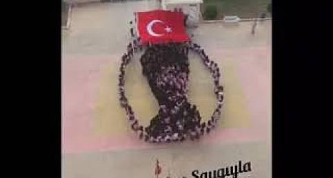 Urfalı Öğrencilerlen Atatürk Koreografisi-Şanlıurfa 63 TV