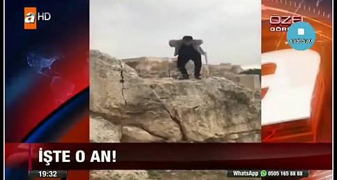 Urfa Kalesinden Düşen Şahsın Ölüme Gittiği ve Düştüğü An-Şanlıurfa 63 COM