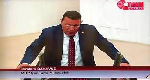 MHP Şanlıurfa Miletvekili İbrahim Özyavuz TBMM'de Yemin Etti