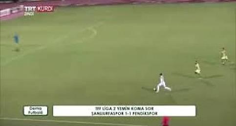 Şanlıurfaspor 1 Pendik 1 Maçın Geniş Özeti